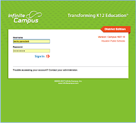 link to Infinite Campus login