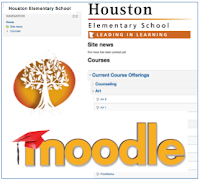 link to HES Moodle login