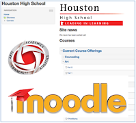 link to HHS Moodle login