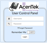 link to AcenTek telephone login